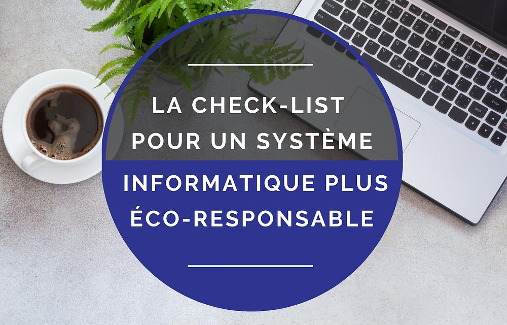 Informatique Eco-Responsable
