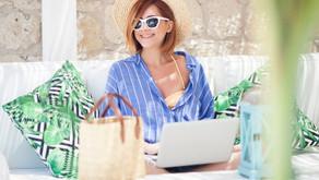 Les bonnes pratiques numériques à avoir en vacances ou en déplacement professionnel