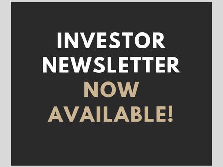 November Investor Newsletter