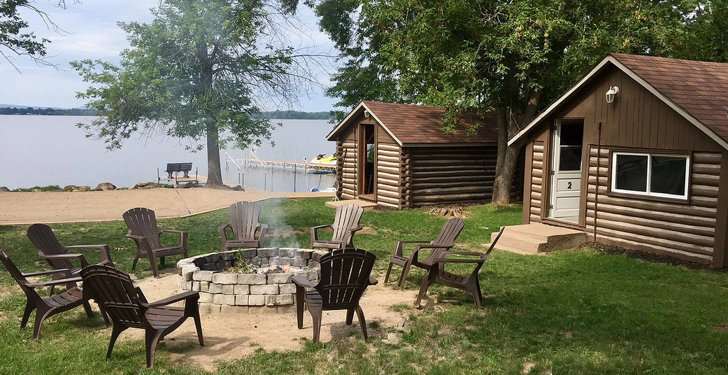 Cabins & Firepit