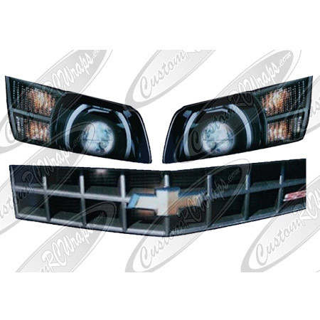Chevy SS Headlights and Grille