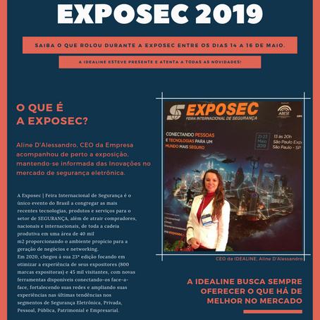 Confira as novidade da EXPOSEC 2019