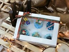 Christmas medium cupcakes