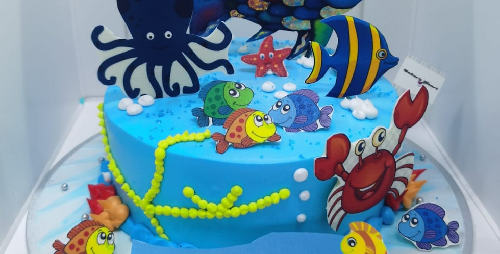 SEA AQUARIUM CAKE 01