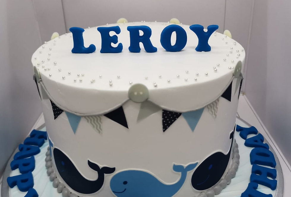 cutie whales cake