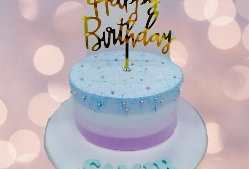 OMBRE SIMPLE CAKE