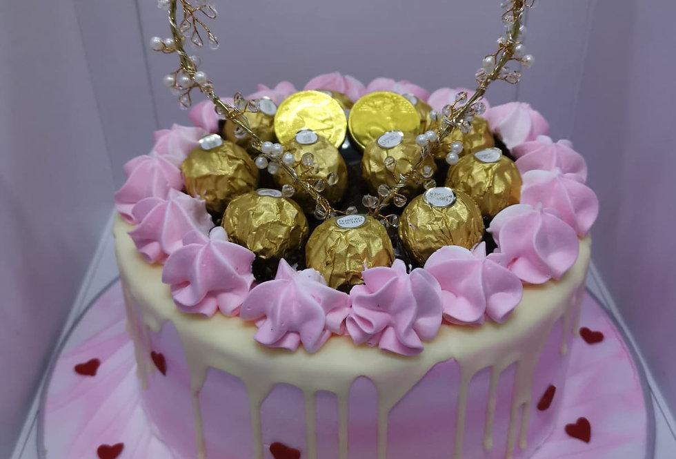 PINKY MONEY PULLING CAKE
