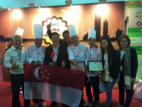 Asian Baking Competition in Taiwan 2015