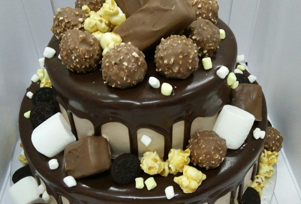 chocolate madness (2 tiers)