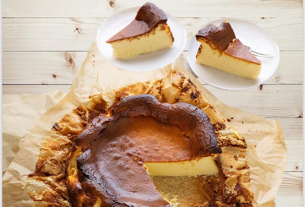 """STYGIAN"" Basque Burnt Cheesecake"