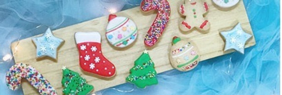 CHRISTMAS MINI COOKIES 6PCS (NON-MEMBER)