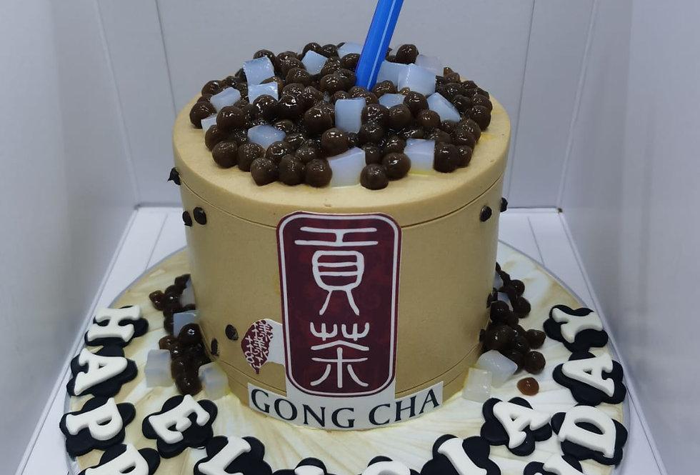 Gongcha cake