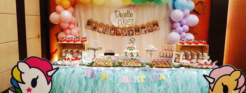 Dessert Table with TuTu skirting