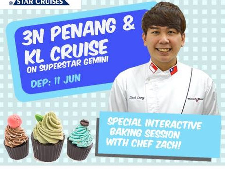 Star Cruise fun family baking workshop
