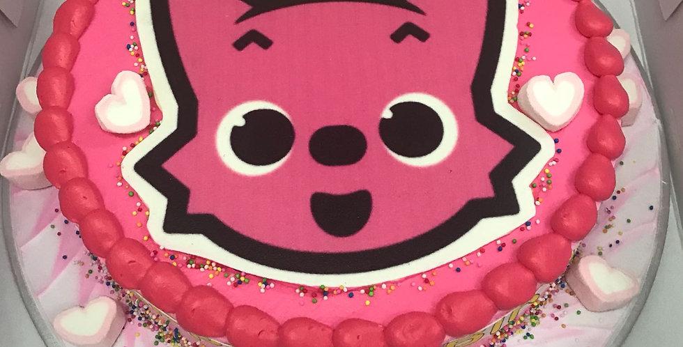 pinky fong cake