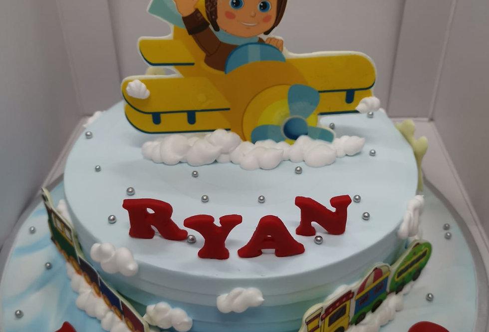 heli boy cake