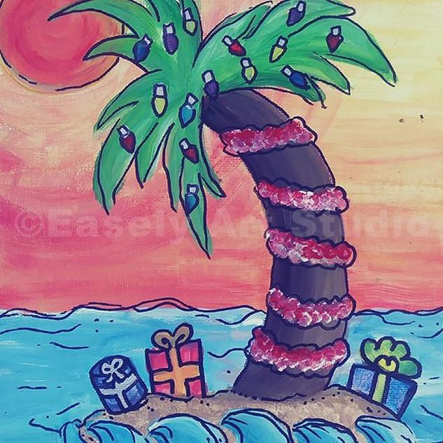 Festive Palm