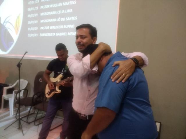 Ministrando no Campo de Itaqua