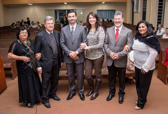 Ministrando no 27º Aniversário da Igreja do Nazareno