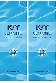 K-Y UltraGel Personal Water Based Lubricant, 4.5 Ounce (Pack of 2)