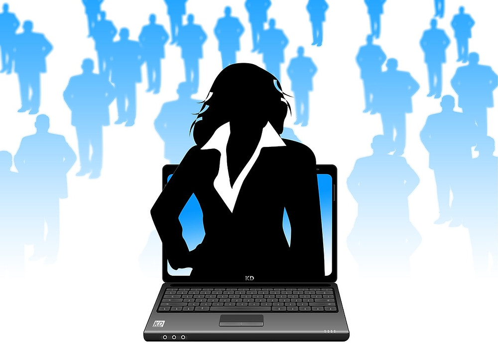 Woman Working in Tech