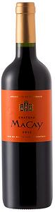 Château Macay Rouge. Rode wijn uit de Bordeaux
