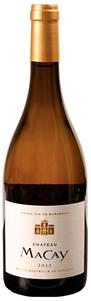 Château Macay Blanc. Witte wijn uit Bordaux