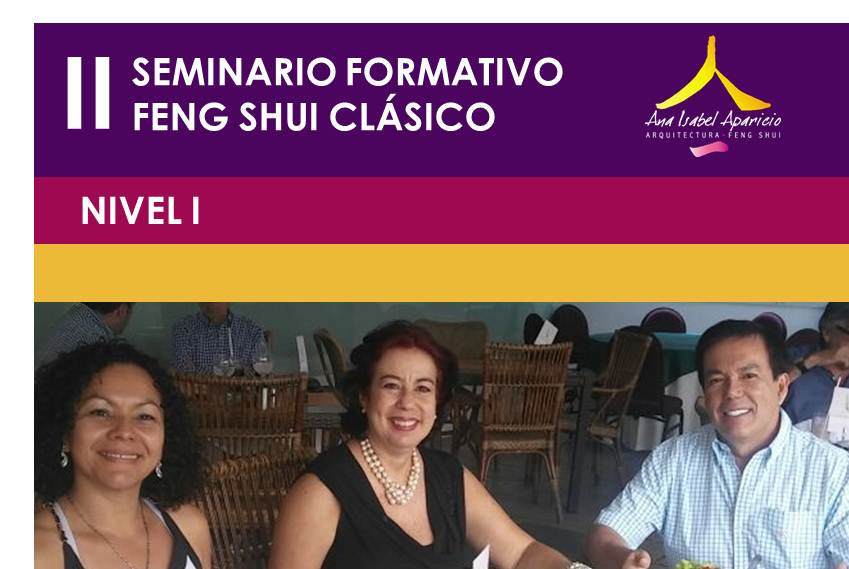 SEMINARIO FENG SHUI 2017
