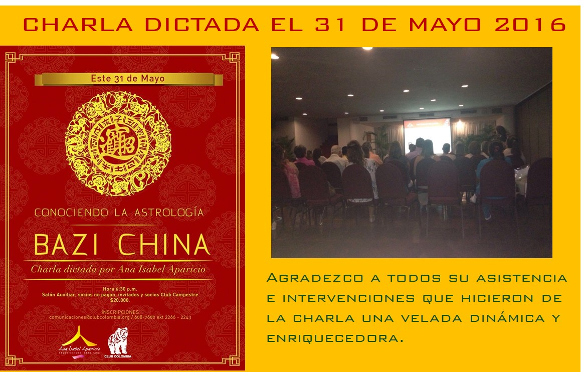 charla dictada ACH Shui club colombia