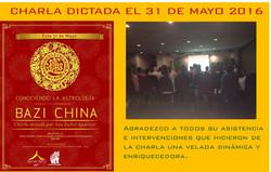 charla dictada ACH Shui club colombia