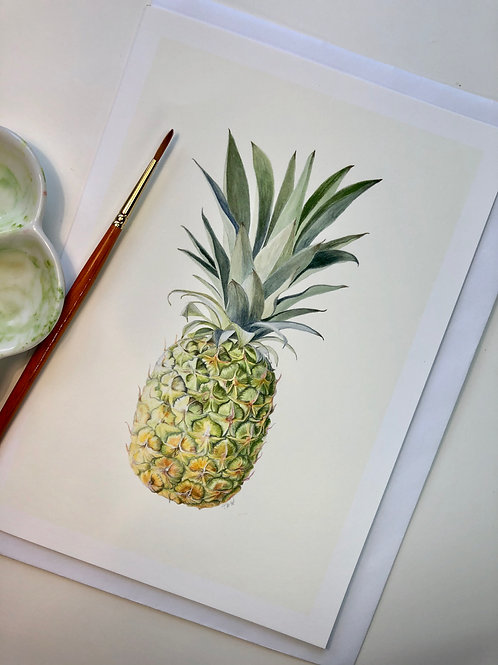 Pineapple Card A5