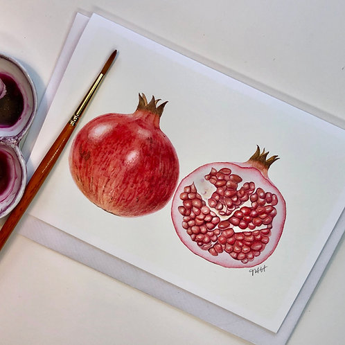 Pomegranate Card A6