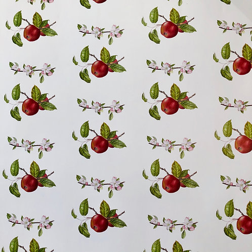 Red Apple Wrapping Paper