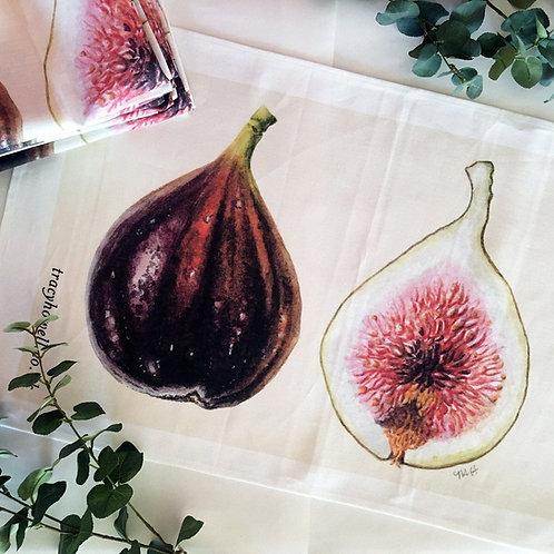 Fig Tea Towel