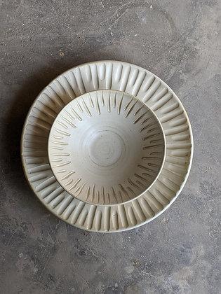 Vritti - Pearl White Set