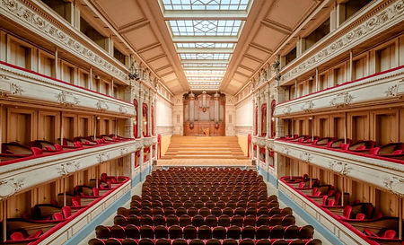 Brussels Royal Conservatory Concert Hall