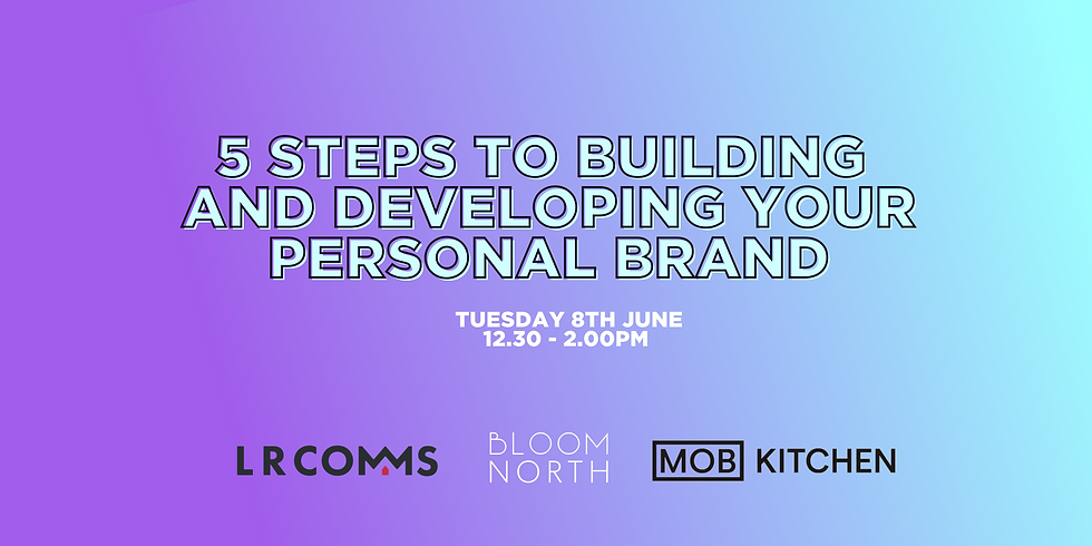 5 Steps to Building and Developing Your Personal Brand