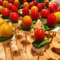 Balsamic injected Caprese Bites_____ #privatechef #chef #mammothcatering #caprese #catering #mammoth