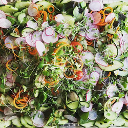 Mixed Greens Salad_•_•_#mammothcatering #privatechef #chef #mammoth #salad