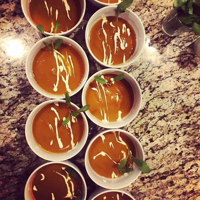 Butternut Squash Soup_•_•_#mammothcatering #privatechef #catering #mammoth #mammothlakes #mammothsto