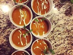 Butternut Squash Soup_•_•_#mammothcatering #privatechef #catering #mammoth #mammothlakes #mammothstories #butternutsquash