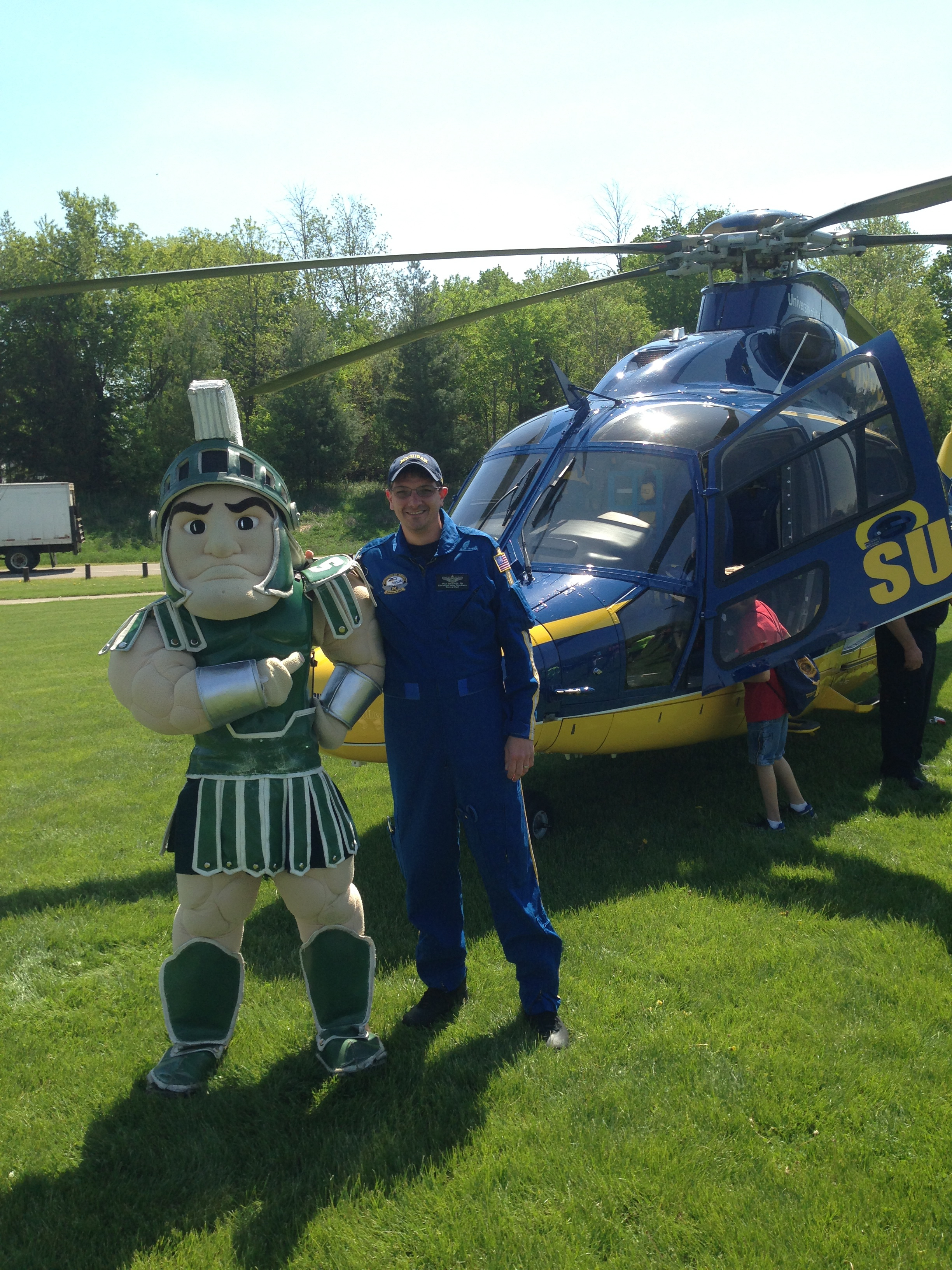 Rubbing Elbows with Sparty