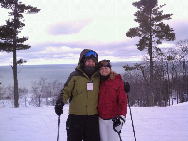 Skiing in Northern Michigan
