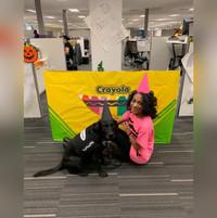 Waimea and Monique on Halloween