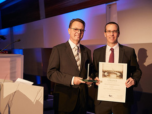 Prof Peter Boor received the Bernd Tersteegen-Award