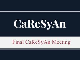 Final CaReSyAn Meeting