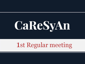 CaReSyAn 1st Regular meeting, Agenda, August 24, 2018, Frankfurt, Germany