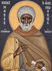 Άγιος Μωυσής ο Αιθίοπας