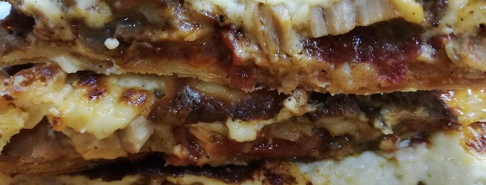 Πίτα Γεύμα ΧΟΙΡΙΝΟ με φύλλο