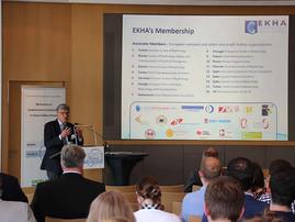 Prof. Raymond Vanholder represents the EuropeanKidney Health Alliance at the SFB/TRR219